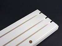 Карниз потолочный пластиковый (ОМ) тройной 1,5м