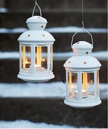 Фонарики для свечей