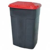 Контейнер пластиковый для мусора, 90 л