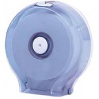 591 Держатель туалетной бумаги Джамбо пластик прозрачный