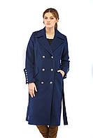 Женское пальто ПВ-18 Синий, фото 1