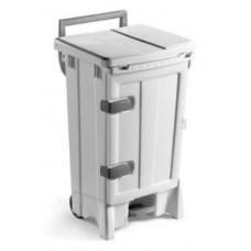 5705 Контейнер для мусора с дверцей 90л зеленого цвета