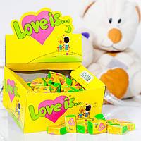 Жвачки LOVE IS... кокос ананас