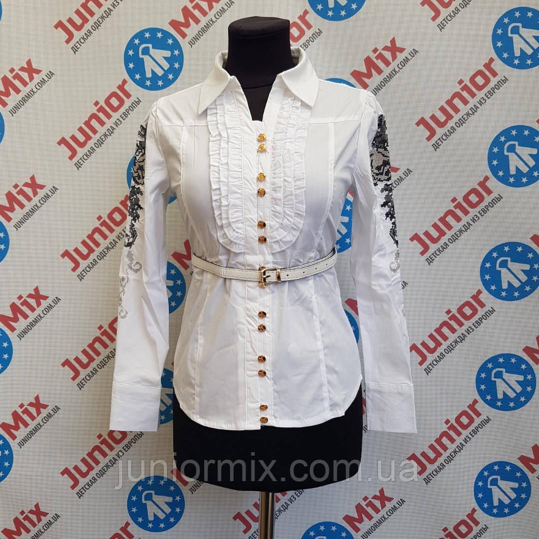 Школьная подростковая блузка на девочку LOVE  ALJCE