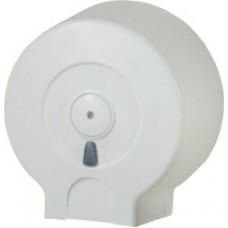 Держатель туалетной бумаги Джамбо пластик белый