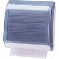 696 Держатель бумажных полотенец пластик прозрачный