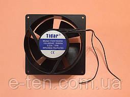 Вентилятор осьовий універсальний Tidar 172мм*150мм*50мм / 220-240V / 0,22 А / 33W ( КРУГЛО-КВАДРАТНИЙ )