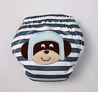 Восхитительные тренировочные трусики BabyFriend S, обезьянка в шлеме