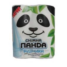 """Полотенца бумажные """"Сніжна Панда"""" 2 рулона"""