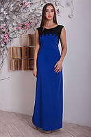 Нарядное длинное платье в пол