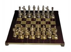 Шахматы с фигурами из латуни Manopoulos