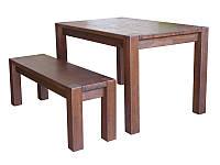 Дубовый стол Амберг Люкс 80х120