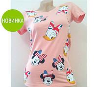 """Модная женская трикотажная футболка """"Disney"""""""