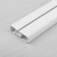 Карниз потолочный пластиковый усиленный(КСМ)одинарный 1,5м
