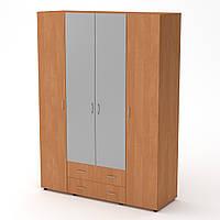 Шкаф-7 ольха Компанит (160х54х218 см)