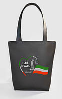 "Женская сумка ""Italy"" Б373 - черная"