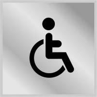 """3005 Табличка """"Туалет для инвалидов"""""""