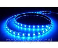 Лента светодиодная (LED лента, неон) SMD 3528, 5м, синяя
