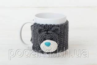 Чашка с манжетой Мишка Тедди