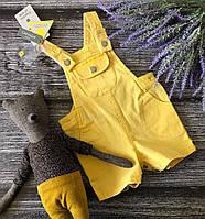 Модный детский ромпер на лямках из тонкого денима