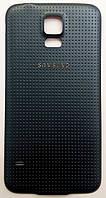 Задняя крышка батареи для мобильного телефона Samsung G900H Galaxy S5, серая