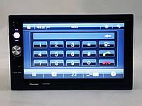 "2din Автомагнитола Pioneer 7023 CRB GPS Навигация 7"" Экран + AV-in + пульт на руль"