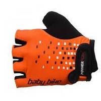 Перчатки для фитнеса детские Power Play 5451 (оранжевый)