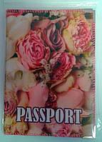 Обложка на паспорт Розочки 1205++