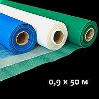 Москитная сетка в рулонах от комаров, 0,9 х 50 м.,(Плотная 60г\м) противомоскитная сетка Белая/Зеленая/Синяя