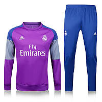 Спортивный костюм Adidas, Реал Мадрид. Футбольный, тренировочный. Сезон 16/17, фото 1