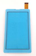 Оригинальный тачскрин / сенсор (сенсорное стекло) для Globex GU7015C (белый цвет, тип 2, самоклейка)
