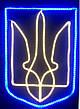 """Панно светодиодное """"Герб Украины двухцветный"""", фото 2"""