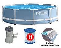 Бассейн INTEX круглый Easy Set 305х76 см, артикул 28110/56970/54946