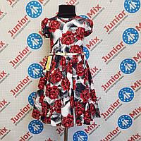 Детское нарядное платье на девочку dim