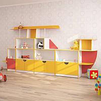 Стінка для дитячого садка ВЕРТОЛІТ (3700*400*1700h)