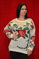Тёплый женский свитер
