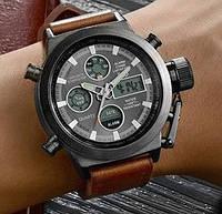 Кварцевые спортивные часы AMST (light brown)