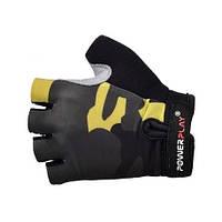 Перчатки для фитнеса Power Play 5454 CAMO