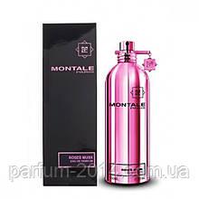 Женская парфюмированная вода Montale Roses Musk 100 ml + 5 ml в подарок (реплика)