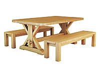 Дубовый стол Ларго 100х180