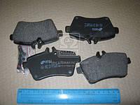 Колодка торм. MB A-CLASS(W169) 160-200 04-,B-CLASS(W245) 150-180 05- передн. (пр-во REMSA) 1144.00