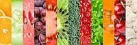 Кухонный фартук - коллаж фрукты