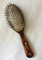 Массажная щётка для волос SALON PROFESSIONAL пластиковые гвозди,большая(33TTH)