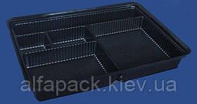 Упаковка для суши ПС-610Д+ПС-61К, 278*195*40