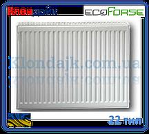 Стальной панельный радиатор 22К 500*400 ECOFORSE (Украина)