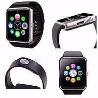 Smart watch GT-08 Silver. Камера, симка, блютуз