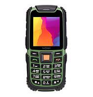 Мобильный телефон Nomi i242 X-treme Black Green