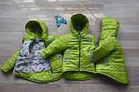 Куртки для девочек демисезонные 98-116