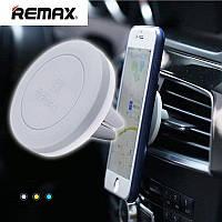 Холдер Remax RM-C10 Grey (Magnetic на вентеляционную решетку)