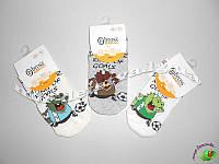 Летние носки для мальчиков оптом TM BROSS р.5-7 лет (28-30)